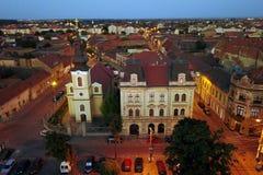 Quadrado 02 da união, Timisoara, Romania fotografia de stock royalty free
