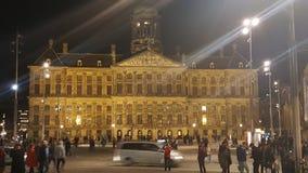 Quadrado de Amsterdão Imagem de Stock Royalty Free