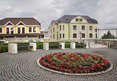 Quadrado de Andrej Hlinka em Zilina slovakia imagem de stock royalty free