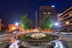 Quadrado de Asheville Fotografia de Stock Royalty Free