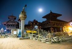 Quadrado de Bhaktapur Durbar fotos de stock royalty free