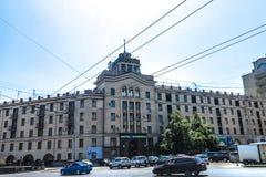 Quadrado 03 de Chisinau United Nations fotos de stock