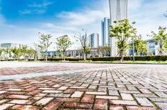 Quadrado de cidade Imagem de Stock