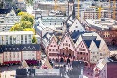 Quadrado de cidade velho de Francoforte Foto de Stock Royalty Free