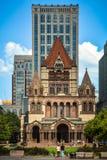 Quadrado de Copley em Boston Imagem de Stock Royalty Free