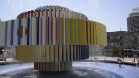 Quadrado de Dizengoff em Tel Aviv vídeos de arquivo