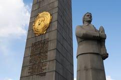 Quadrado de Dorogomilovskaya Zastava, Moscou, cidade federal do russo, Federação Russa, Rússia Fotografia de Stock Royalty Free
