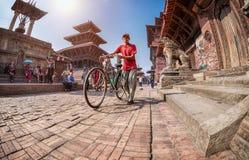 Quadrado de Durbar em Patan Foto de Stock