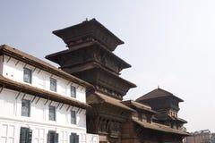 Quadrado de Durbar - Kathmandu imagens de stock