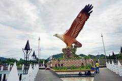 Quadrado de Eagie em Langkawi, Malásia fotografia de stock