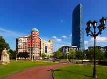 Quadrado de Euskadi bilbao Fotografia de Stock