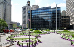 Quadrado de Foley em New York City Fotos de Stock Royalty Free