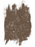 Quadrado de Grunge   ilustração stock