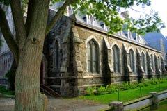 Quadrado de Harvard, Cambridge Foto de Stock Royalty Free