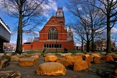 Quadrado de Harvard, EUA imagens de stock