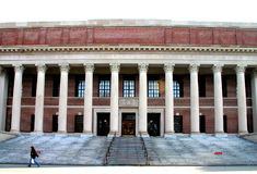 Quadrado de Harvard, EUA fotos de stock royalty free