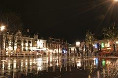 Quadrado de Heuvel, Tilburg, os Países Baixos Fotos de Stock Royalty Free