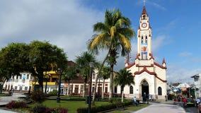 Quadrado de Iquitos no dia foto de stock