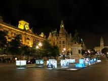 Quadrado de Liberdade, Porto Foto de Stock Royalty Free