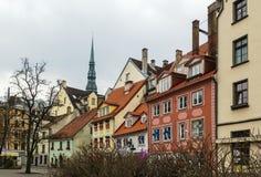 Quadrado de Livu, Riga Foto de Stock Royalty Free