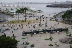 Quadrado de Maua em Rio de janeiro fotografia de stock