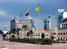 Quadrado de Merdeka, Kuala Lumpur, malaysia Foto de Stock