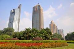 Quadrado de Nanjing Gulou Fotos de Stock Royalty Free