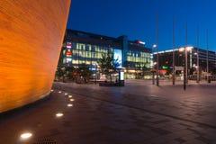 Quadrado de Narinkka em Helsínquia Fotos de Stock Royalty Free