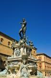Quadrado de Netuno - Bolonha fotografia de stock royalty free
