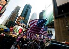 Quadrado de New York Times Foto de Stock Royalty Free