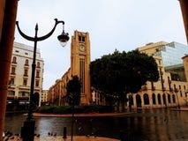 Quadrado de Nijmeh - Beirute Líbano Fotografia de Stock Royalty Free