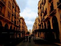 Quadrado de Nijmeh - Beirute Líbano Imagens de Stock