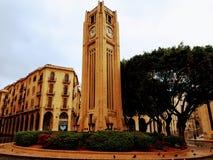 Quadrado de Nijmeh - Beirute Líbano imagens de stock royalty free