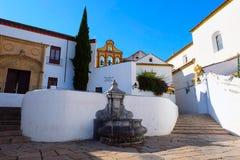 Quadrado de Nuestra Senora de la Paz y Esperanza, Córdova foto de stock royalty free