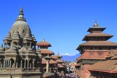 Quadrado de Patan Durbar fotos de stock royalty free