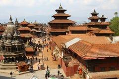 Quadrado de Patan Durbar em Nepal Fotografia de Stock