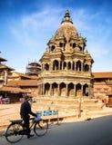 Quadrado de Patan Durbar em Nepal foto de stock royalty free