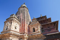 Quadrado de Patan Durbar, Nepal foto de stock royalty free