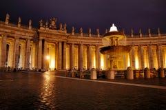 Quadrado de Peter de Saint em Noite Foto de Stock Royalty Free