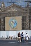 Quadrado de Peter de Saint em Vatican Imagens de Stock
