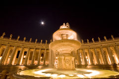 Quadrado de Peter de Saint. Roma. Italy., Vatican Fotos de Stock