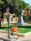 Quadrado de Piazzetta Vittorio Emanuele II de Lecce Puglia, Itália fotos de stock