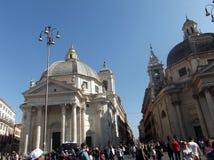 Quadrado de Roma Fotografia de Stock
