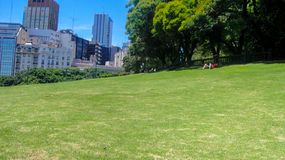 Quadrado de San Martin em Buenos Aires fotografia de stock royalty free
