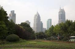Quadrado de Shanghai Renming Foto de Stock Royalty Free
