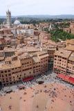 Quadrado de Siena Foto de Stock Royalty Free