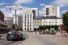 Quadrado de Sundbyberg Foto de Stock