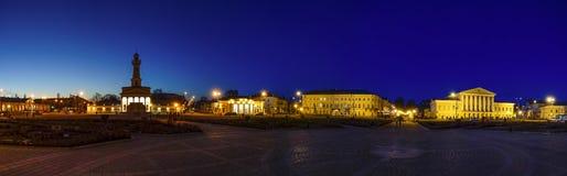 Quadrado de Susanin em Kostroma Fotografia de Stock Royalty Free