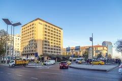 Quadrado de Taksim, Beyoglu, Istambul Fotografia de Stock