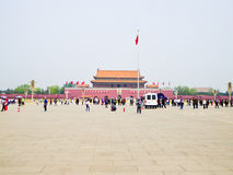 Quadrado de Tian'anmen fotos de stock royalty free